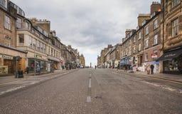 Frederick Street in Edinburgh.  Royalty Free Stock Image