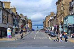 Frederick Street-hoek met Prinsenstraat en William Pitt-sta stock afbeeldingen