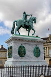 Frederick V statue Royalty Free Stock Photography