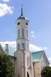 Fredericksburg市政厅尖顶  免版税图库摄影