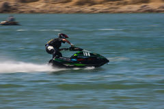 Frederico Gallego in  (198) Gran Prix of Jet Ski Stock Images