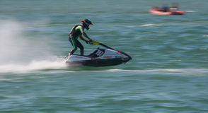 Frederico Gallego in Gran Prix of Jet Ski 2012 Stock Photography