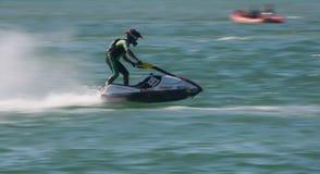Frederico Gallego in Gran Prix of Jet Ski 2012 Stock Photography