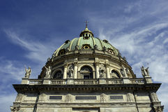 Frederik's Church. The Marble Church. The largest church dome in Scandinavia Royalty Free Stock Photos