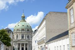 Frederik's Church Royalty Free Stock Images