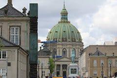 Frederik's Church in Copenhagen, Denmark Royalty Free Stock Photography