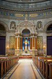 Frederik's Church. COPENHAGEN, DENMARK - JULY 2: Frederik's Church on July 2, 2014 in Copenhagen Stock Photos