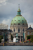 Frederik's Church, or The Marble Church in Copenhagen, Denmark. Stock Photography