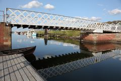 The Frederik VII canal at Logstor. Denmark Royalty Free Stock Photography