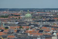 Frederiks Kirke Stockfotos