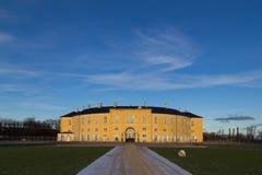 Frederiksberg castle in Copenhagen. Frederiksberg, Denmark - January 13, 2016: Photograph of Frederiksberg castle in Frederiksberg Park stock photography