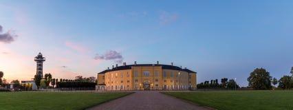 Frederiksberg castle in Copenhagen by night Stock Photo