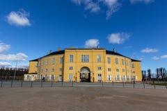 Frederiksberg-Palast an einem sonnigen Tag stockfotografie