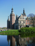 Frederiksborg castle. In Hellerod, Denmark Stock Images
