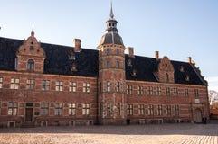 Frederiksborg Castle area at Hillerod. Denmark, 2013 Stock Image