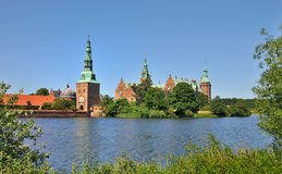 Frederiksborg Castle, Denmark. Frederiksborg Castle, the famous Danish Castle in Hilleroed Stock Photos