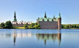 Frederiksborg Castle, Denmark royalty free stock photography
