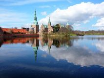 Frederiksborg Castle, Denmark. Frederiksborg Castle, the famous Danish Castle in Hilleroed Stock Images