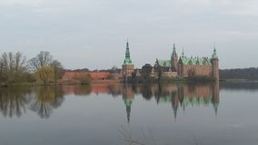 Frederiksborg castle royalty free stock photography