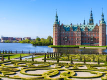Frederiksborg Castle, Hillerod, Denmark Royalty Free Stock Photos