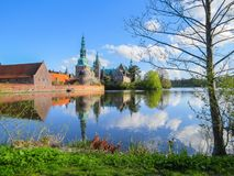 Frederiksborg Castle, Hillerod, Denmark Royalty Free Stock Photos