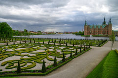 Frederiksborg Castle, Hillerod, Denmark Stock Photo
