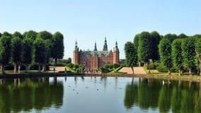 Frederiksborg Castle. Lovely Frederiksborg Castle and reflection Royalty Free Stock Photos