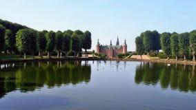 Frederiksborg Castle. Lovely Frederiksborg Castle and reflection Stock Photo