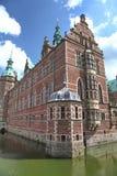 Frederiksborg palace. Historical Frederiksborg palace in Denamrk stock image