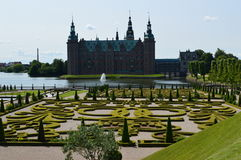 Frederiksborg Palace & Barok Garden Royalty Free Stock Photos