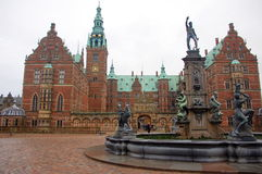Frederiksborg Palace or Castle, Hillerod, Denmark Stock Images