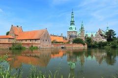 Frederiksborg palace Royalty Free Stock Photo