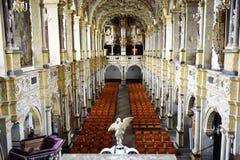 Frederiksborg-Schlitz (Schloss) die Kirche Stockfotos
