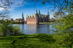 Frederiksborg-Schloss, Dänemark Lizenzfreies Stockfoto