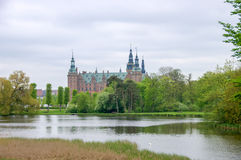 Frederiksborg Slot Royalty Free Stock Photos