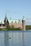 Frederiksborg Slot Hilleroed royalty free stock photo