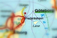 Frederikshavn, Denmark - Europe. Frederikshavn, a Danish town in the Region Nordjylland, on the northeast coast of the Jutland peninsula in northern Denmark stock image