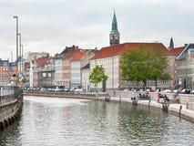 Frederiksholms Kanal in Copenhagen Stock Image