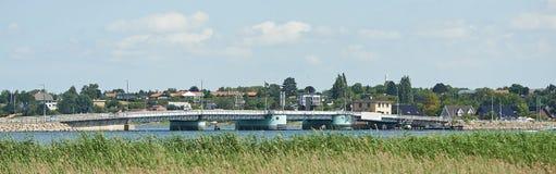 Frederikssund most obrazy stock