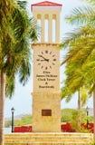 Frederiksted nós torre de pulso de disparo de Virgin Islands Fotografia de Stock Royalty Free