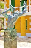 Frederiksted us virgin islands freedom sculpture Royalty Free Stock Photography