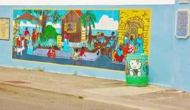 Frederiksted us virgin islands graffiti stock images