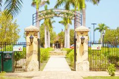 Frederiksted us virgin islands port royalty free stock photo