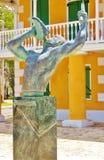 Frederiksted wir Virgin- Islandsfreiheitsskulptur Lizenzfreie Stockfotografie
