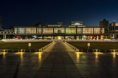 Fredmuseum i Hiroshima arkivbild