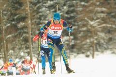 Fredrik Lindstroem - biathlon Stock Images