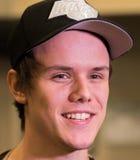 Fredrik `REZ` Sterner. After the win vs NAVI Royalty Free Stock Photography