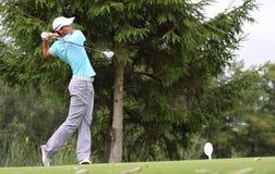 Fredrik Svanberg bij het golf Prevens Trpohee 2009 Royalty-vrije Stock Foto