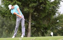 Fredrik Svanberg no golfe Prevens Trpohee 2009 Imagem de Stock