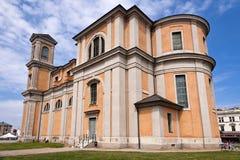 Fredrikskirche in Karlskrona Stock Images